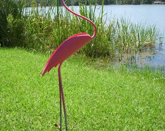 Elegant Flamingo Bird PVC
