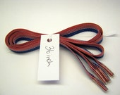 American Flag Ribbon Shoelaces - 36 inches
