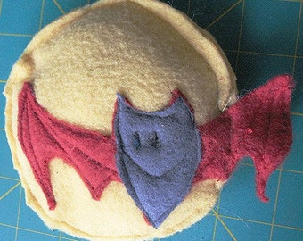 Bat and Moon Organic Catatonic Catnip Cat Toy