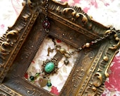 Flirting With Romance vintage assemblage necklace