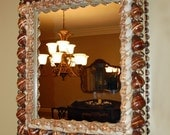 Brown Shell Mirror