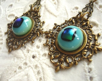 The Eyes Have It Victorian Earrings