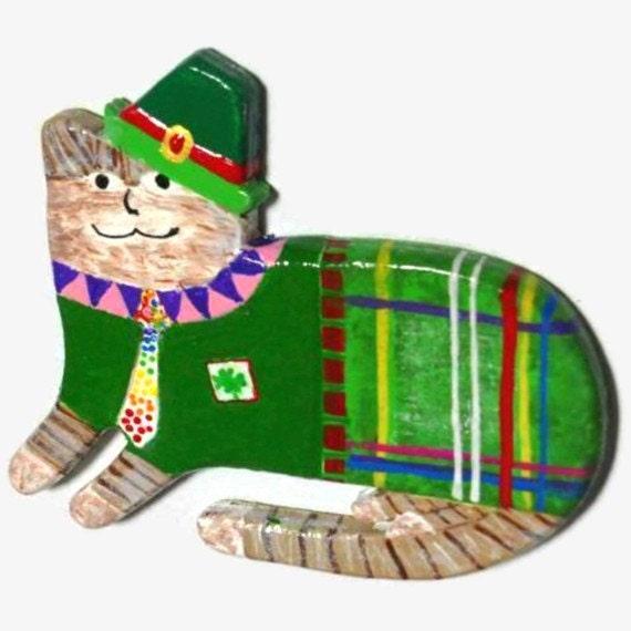 Fridge Magnet - Lucky McKitty Cat