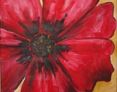 Red Poppy Commission by Kristen Dougherty