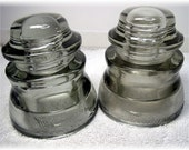 Insulators Armstrong Whitall Clear 1948 1946  Vintage