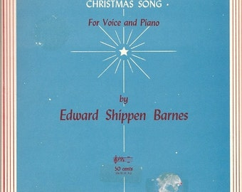 1948 The Stars are Shining Bright Christmas Song Shippen Barnes