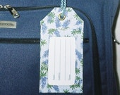 Luggage Tag with Bluebonnets
