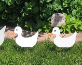 Wood Ducks Set Of Four Lawn Ornaments