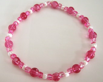 Pretty In Pink Stretch Bracelet