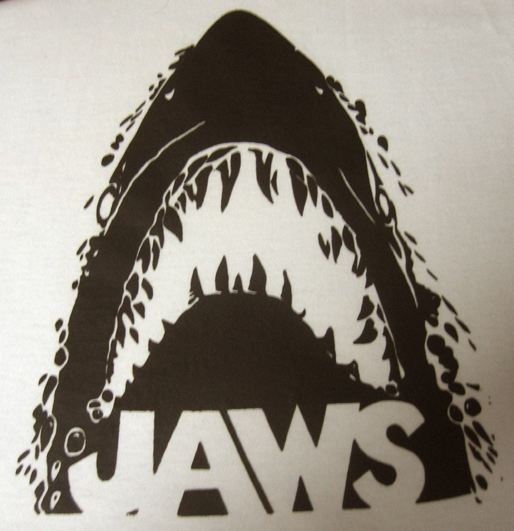 Vintage 1970 39 s jaws iron on transfer shark for 70 s t shirt transfers