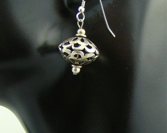SASS AND SPARKLE 925 sterling silver dangle earrings