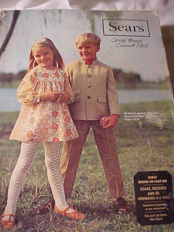 Cool 1969 Spring And Summer Sears Fashion Catalog With Funky