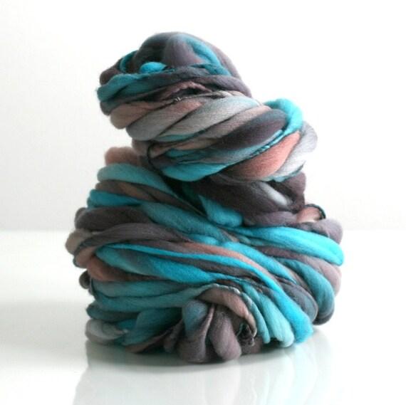 Reserved for musicmuhl Dance Class HANDSPUN tufts yarn, Australian Merino