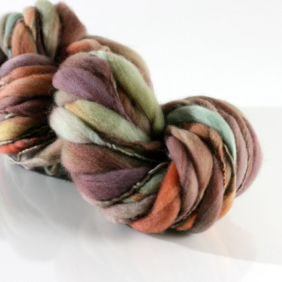 Maya, HANDSPUN tufts yarn, Merino