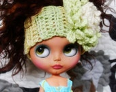 Cute Flower Headband for Blythe - Crochet No. 7