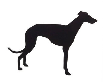 Greyhound / Whipet Brooch