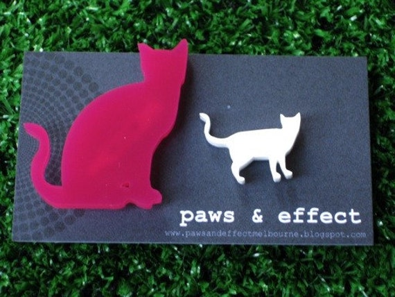 SET - 1 Large Dog or Cat Brooch & 1 Small Dog or Cat Brooch - Create Your OWN SET