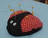 Little Lady Bug Pincushion