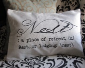 The Definition Of Nest Pillow Cover (Plain)