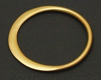 2pcs Small Vermeil Style Circle Link, 12 x 12 x 0.5 mm -- (SLKGS2366)