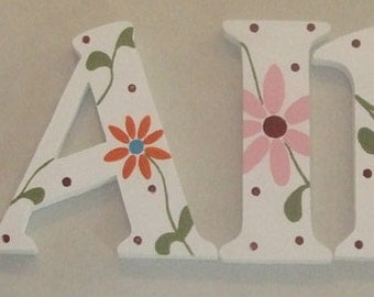 Wall Letters Inspired by Cotton Tale By Lizzie