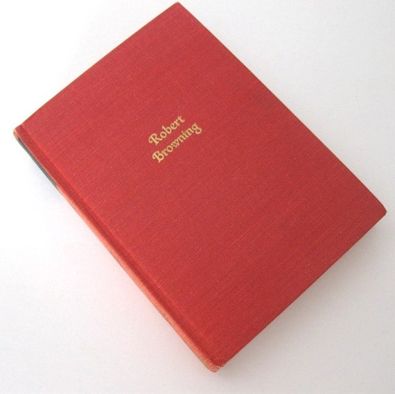 Book The Poetry of Robert Browning Walter J Black Inc 1932