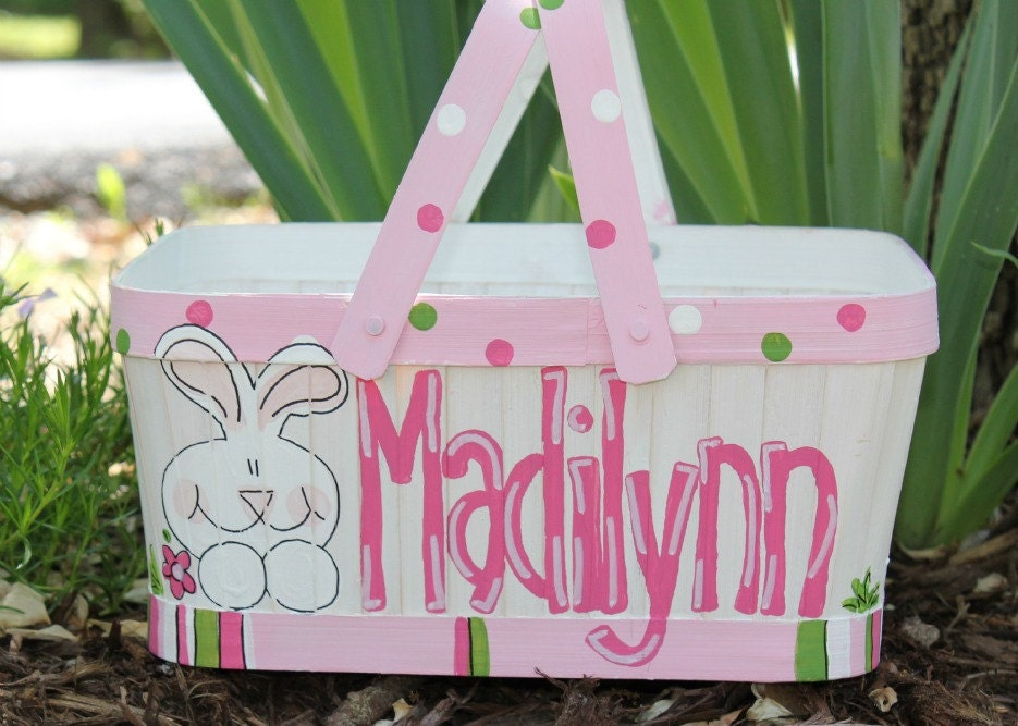 Hand Painted Easter Baskets Photo Album - The Miracle of Easter