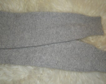 Penny, 100% pure Cashmere Arm Warmers, Grey Heather