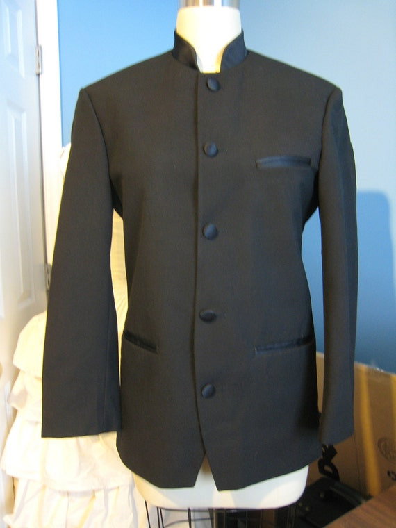 Wholesale Mens Mandarin Collar Jacket