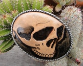 DieDieDie My Darlin, Skull Belt Buckle