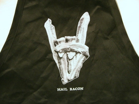 Hail Bacon Apron