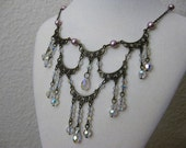 Fairytale Princess Waterfall Necklace