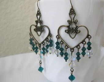 Irish Princess Chandelier Earrings