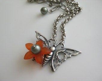 Butterfly Kisses Necklace
