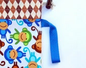 Baby Carrier Stuff Sack - Fits the ERGOBaby, Boba, TULA, Kinderpack, Moby and More - Royal Monkeys