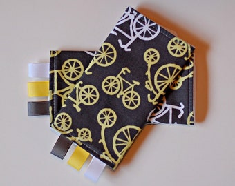 Teething Pads - Chew Pads - Ergo, Boba, BabyHawk and More - Bicycles in Citron