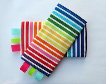 Ergo Sucking Pads - Ergo, Mei Tai, Beco, Boba, BabyHawk and More - Stripes in Bright