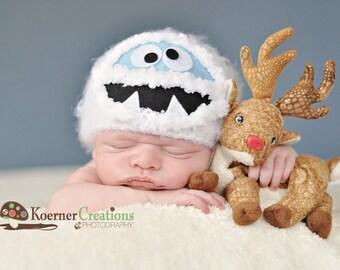 Abominable Snowman/Yeti Newborn photography prop