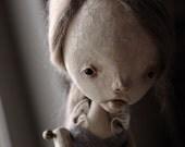 RESERVED Pierrette Art Doll