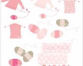 Digital clip art Knitting 2 clipart ,  instant download clip art