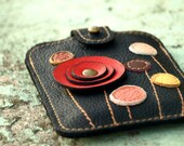 Little Leather Pod for iPod and  iPhone. Made to order.