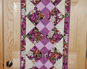 Kimberly Double Four Patch Table Runner