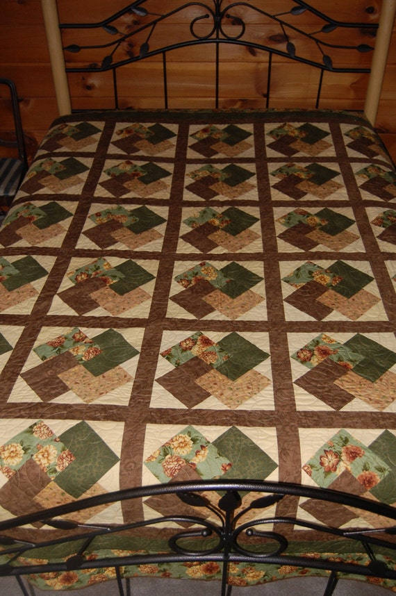 Down to Earth Queen Size Quilt