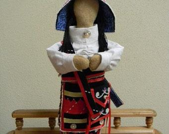 Micmac Doll in Traditional Regalia