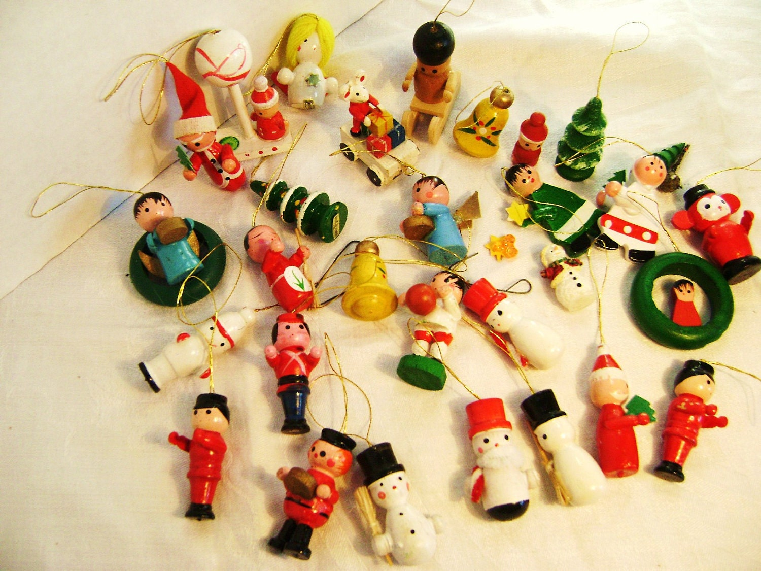 Miniature Wooden Christmas Ornaments. Unlike clothes and toys the child will grow on, personalized christening gifts sentimental memories will last, holding cherished memories of the day of .