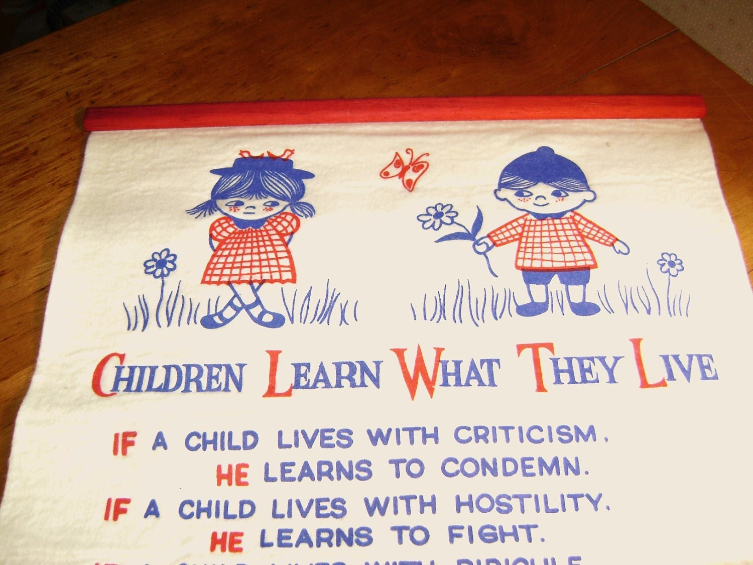 Children Learn What They Live Posters | Fine Art America