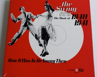 The Swing Era. The Music of 1940-1941. Box set. 3 LPs. Book. Time Life