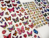 Butterflies and Ladybugs Stickers - RESERVED