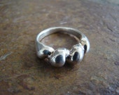 Fine Silver Twisted Rope Ring