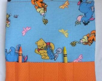 Winnie the Pooh Crayon Tote